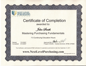 Fundamentals of Purchasing - Purchasing Fundamentals