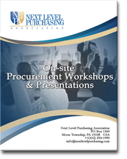 Procurement on-site seminarss