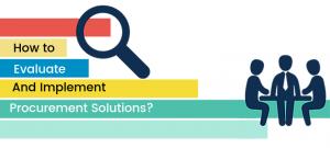 Evaluate Procurement Solutions